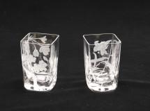 三寸グラス 桜・ささゆり